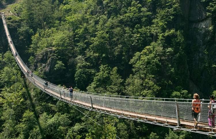 Ponte Tibetano Ticino