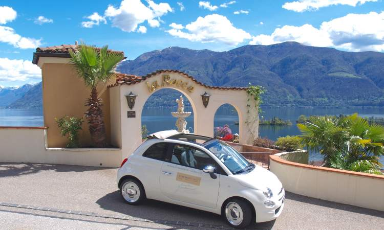 Fiato 500 Cabrio Boutique Hotel La Rocca
